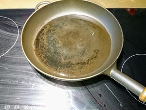 (Guss-)Eisenpfanne einbrennen - meine Erfahrung - Tip