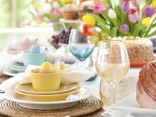 Wohlverdienter Osterbrunch nach erfolgreicher Eiersuche - Tip