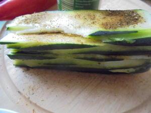Gebratene Zucchini - Schnitzgemüse - Tip
