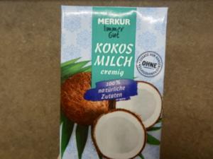 übriggebliebene Kokosmilch - clever bevorraten - Tip