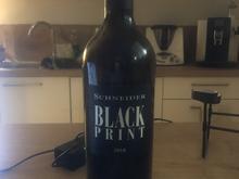 ROTWEIN: Black Print 2018 (Cuvee) by SCHNEIDER - Tip