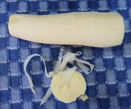 Süßkartoffeln schälen - Tip