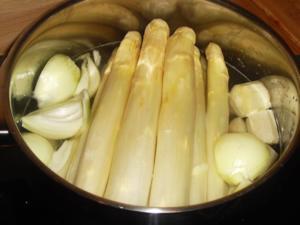 Spargel kochen - Tip
