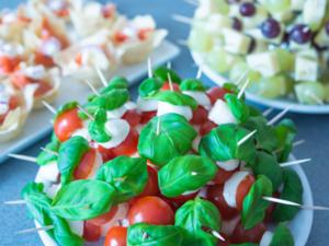 Fingerfood Vegetarisch Fleischlose Häppchen Für Glückliche Gäste