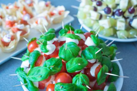 Fingerfood vegetarisch – fleischlose Häppchen für glückliche Gäste - Tip