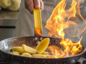 Küchenmythen unter der Lupe: Flambieren ohne Alkohol? - Tip
