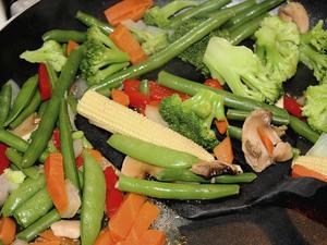 Pfannenrühren im Wok – für voll-aromatische, knackig-frische Asia-Gerichte - Tip