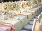Tischdekoration mit Blumen - Tip