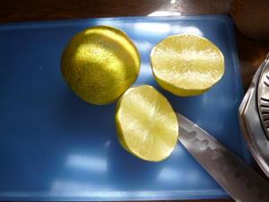 Fruchtessig, z.B. Limettenessig und Orangenessig - Tip