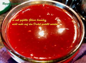 Marmelade/Gelee einkochen und dann: auf den Deckel stellen oder nicht ??? - Tip