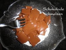 Schokolade schmelzen - Tip