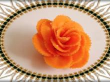 Ein guter Tipp / eine gute Idee Speisen attraktiv anzurichten und zu servieren. - Tip