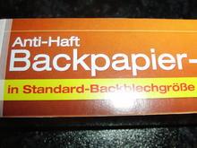 BACKPAPIER - MIT RUTSCHSTOPP - Tip
