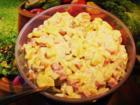 Salate mit Majonnaise sehen meist langweilig und trübe verschleiert aus. - Tip