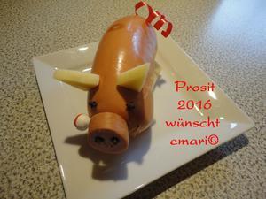 Silvester Glücksschwein - Tip