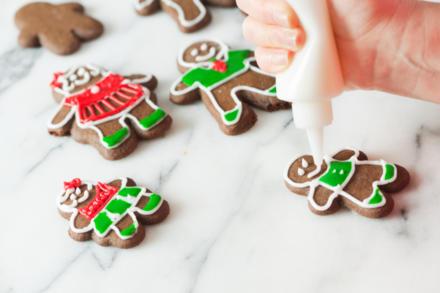 Verzierte Kekse sind wahre Hingucker - Tip