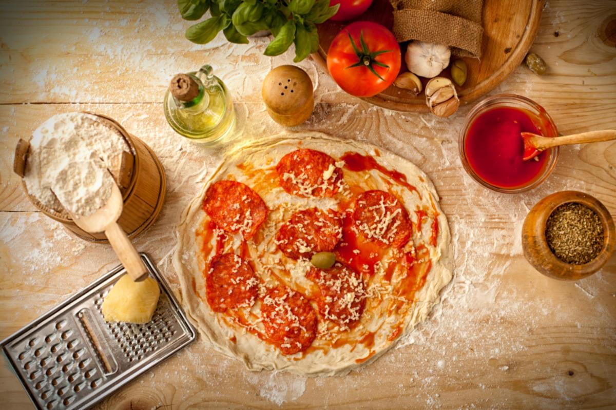 Turbo Pizzateig mit Milch Rezepte - kochbar.de PZ23