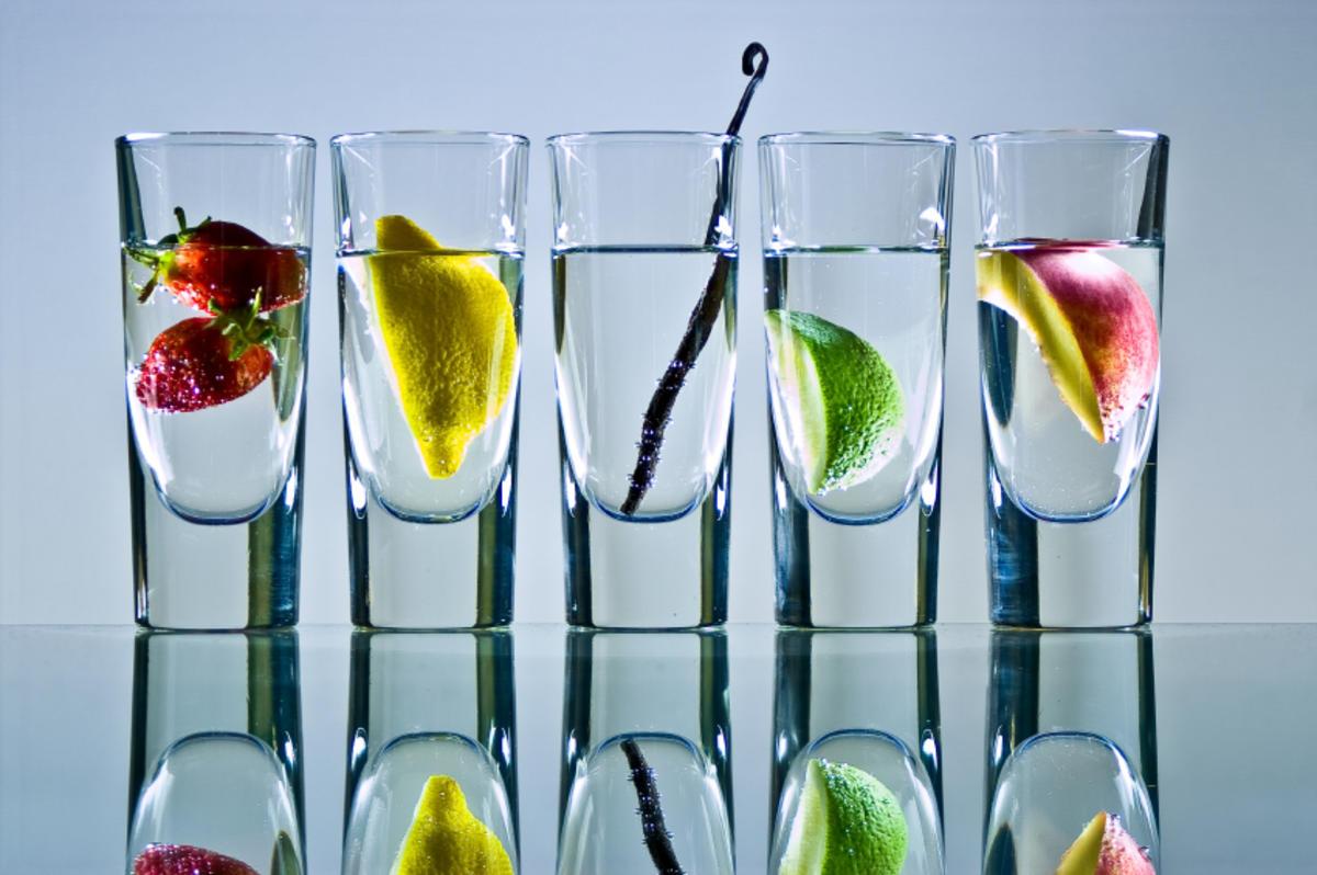 Wodka richtig mischen - Tipp mit Bild - kochbar.de