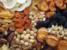 Trockenfrüchte und ihre Eigenschaften - Tip