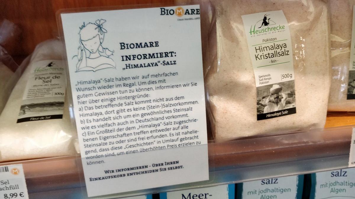 Himalaya-Salz Biomare
