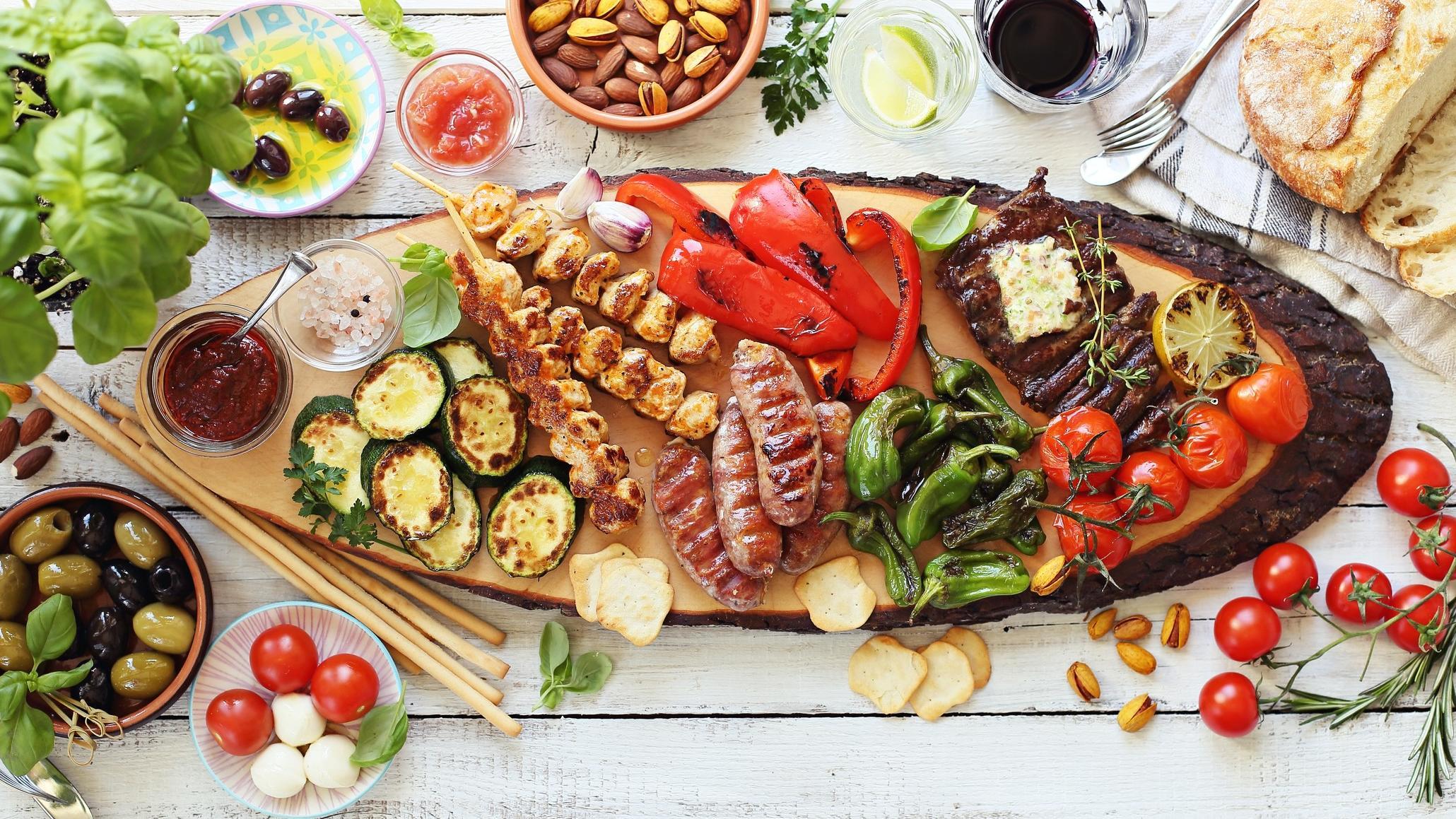 Mittelmeer Ernährung