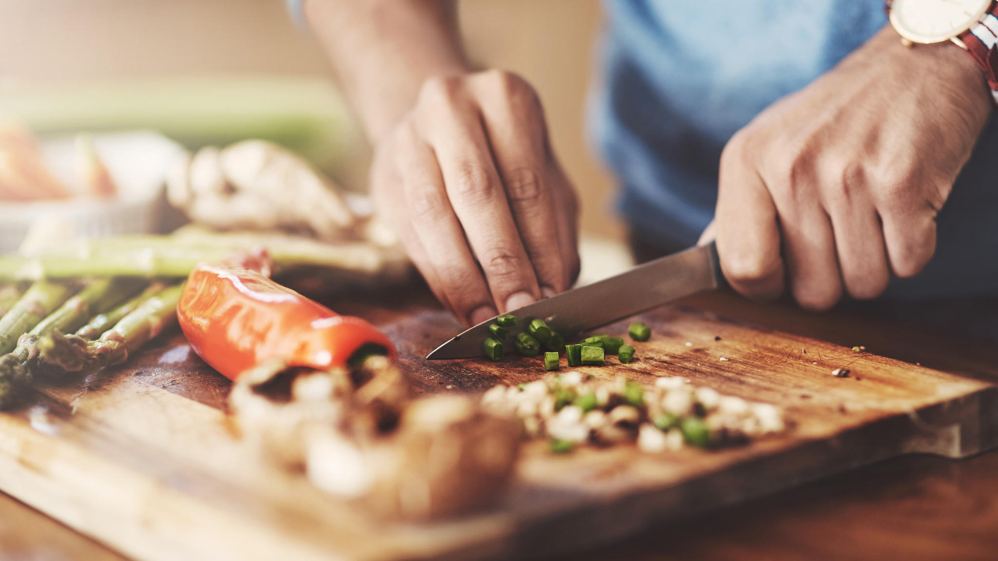Mit guten Messern macht das Kochen direkt mehr Spaß.