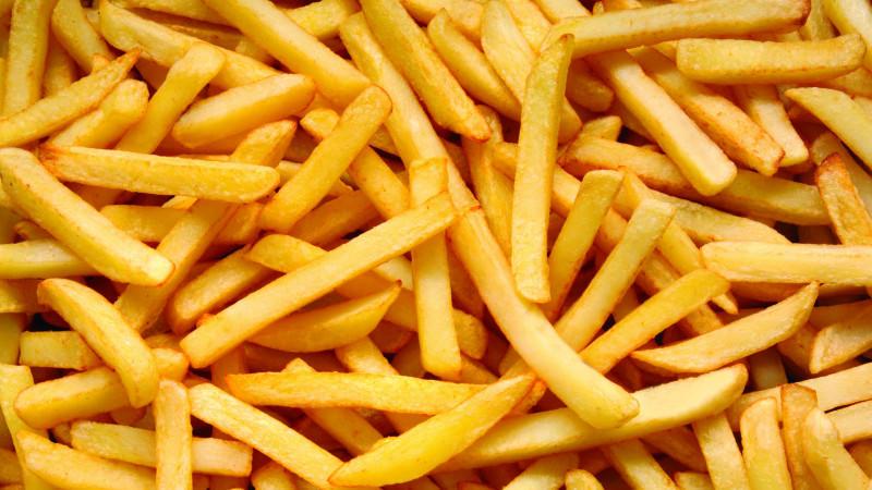 Pommes Frites Aus Süßkartoffeln