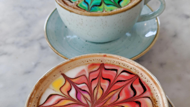 Kunterbunter Kaffee-Traum