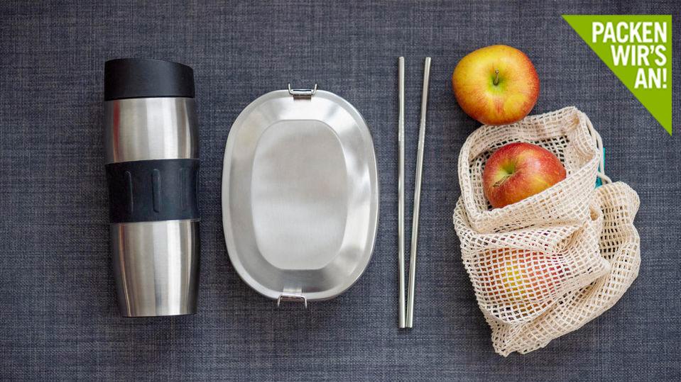 Alternativen zu Plastik gibt es auch im Haushalt.