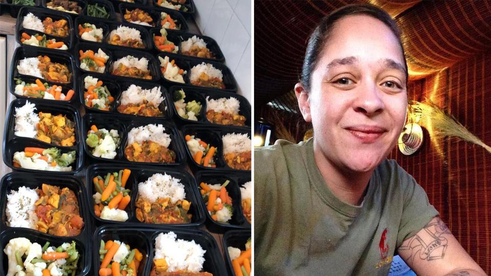 Jenn Carnaby aus Manchester spart über 100 Euro im Monat durch Meal Prepping.