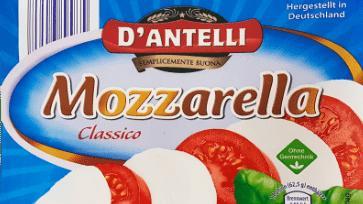 """D'Antelli Mozzarella, 125 g"