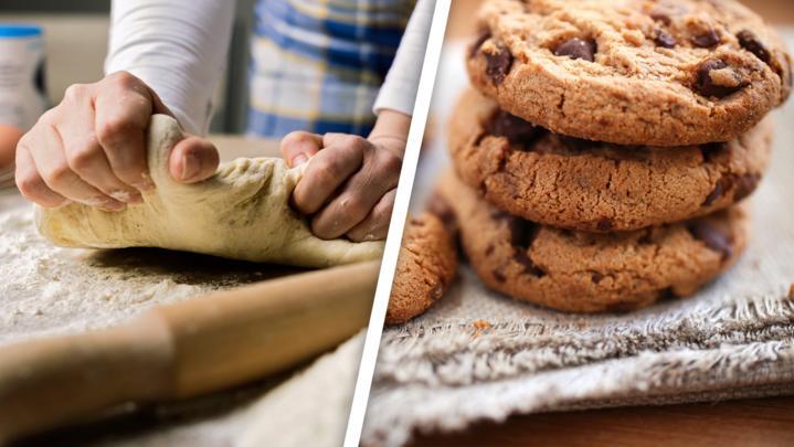 Cookies und Pizzateig
