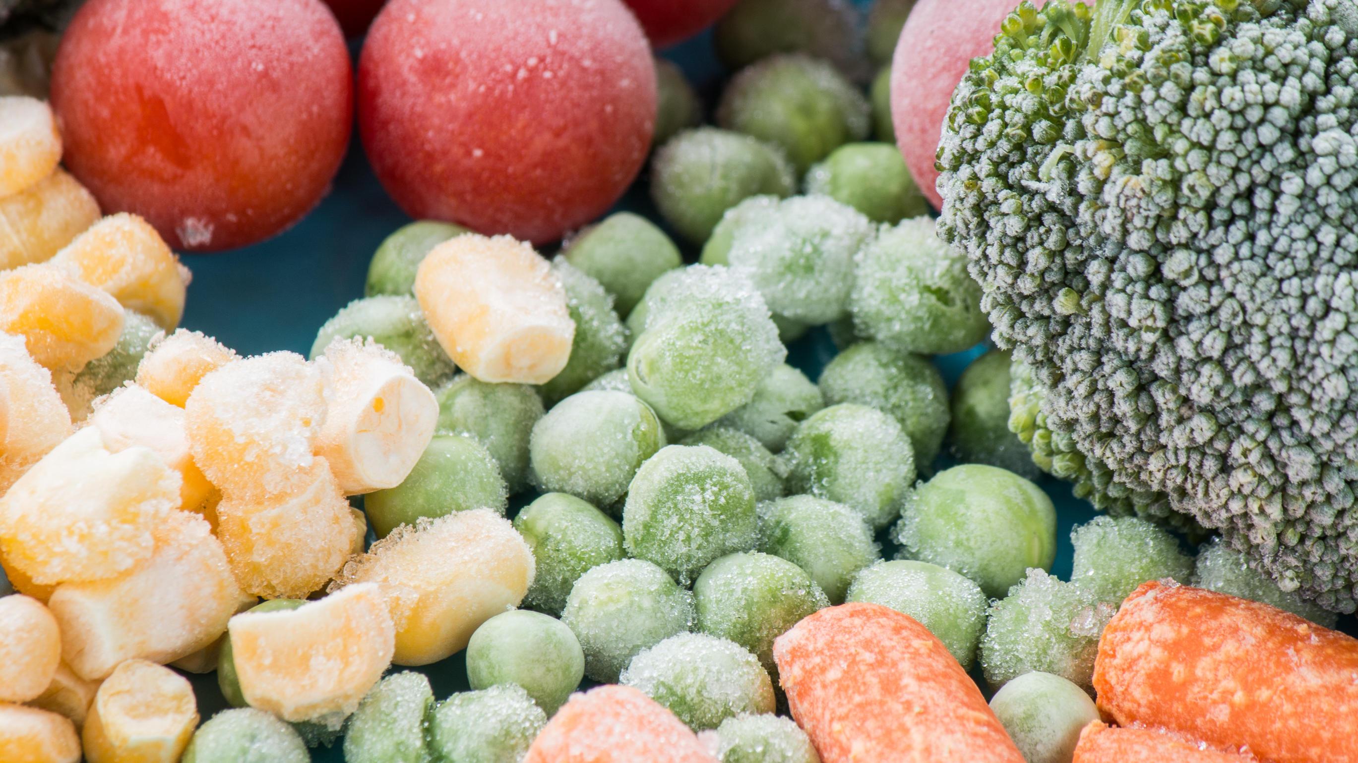 Ein paar Dinge sollten Sie beim Gemüse und Obst einfrieren beachten.