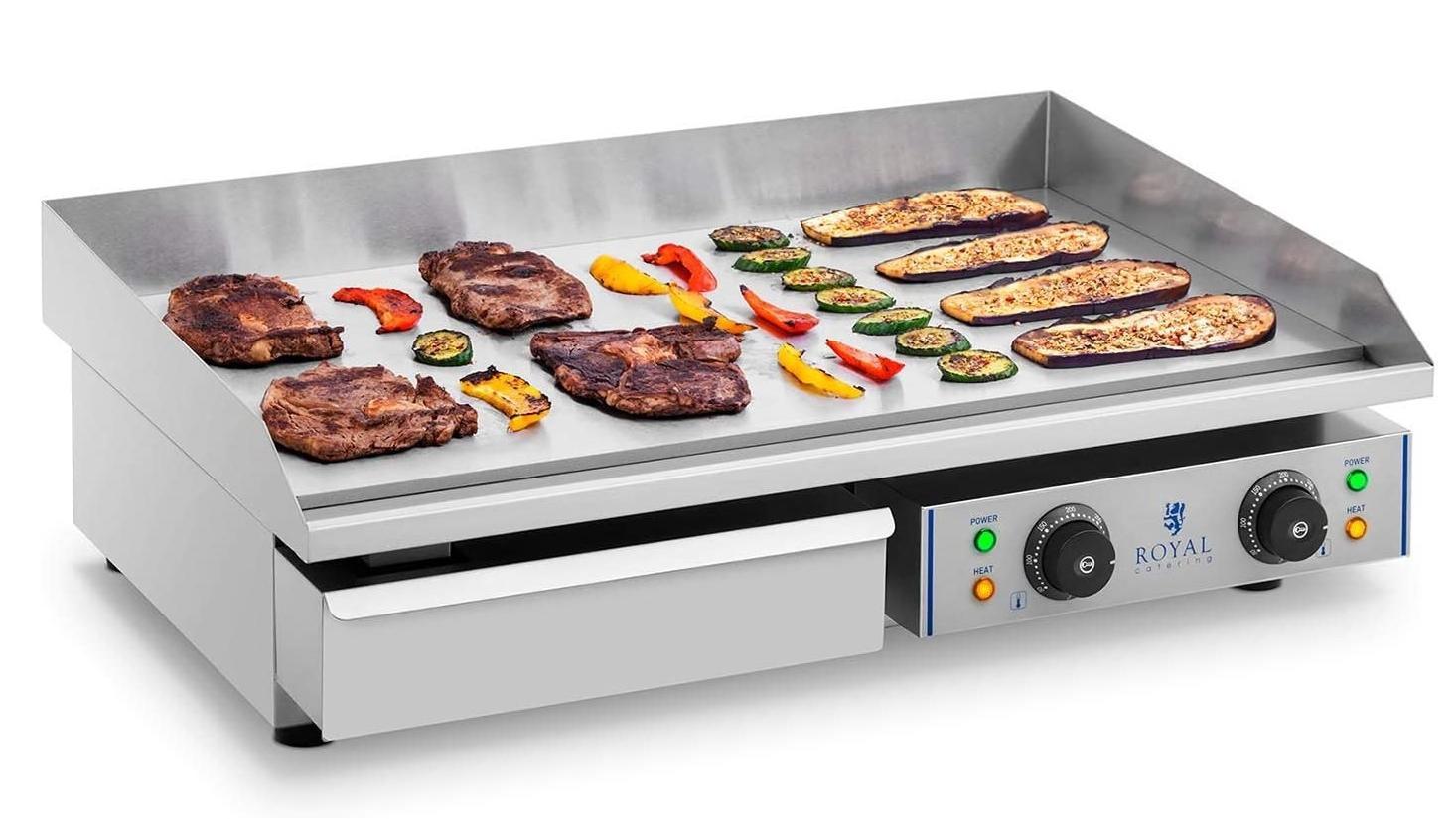 Plancha: Die heiße Platte ist vielseitig einsetzbar.