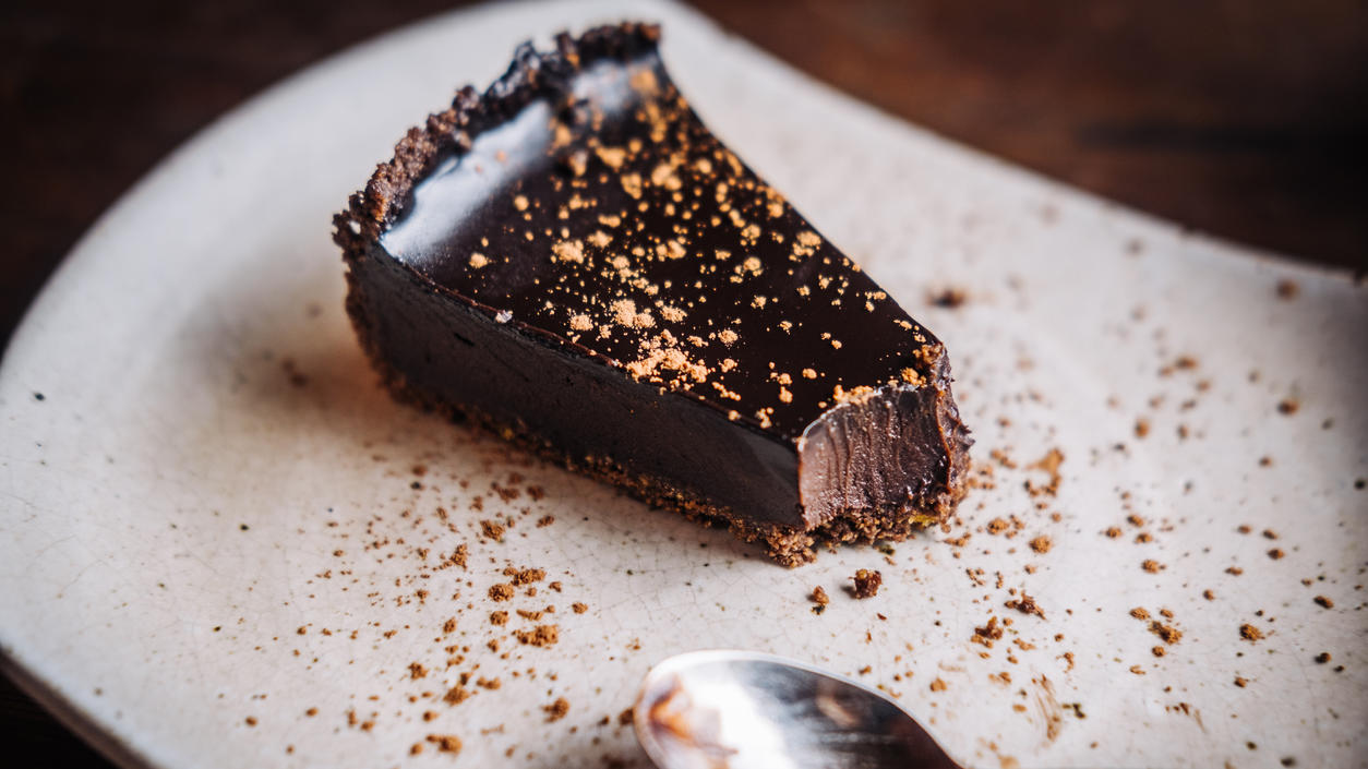 Glutenfreier Schokoladenkuchen - raw und saftig