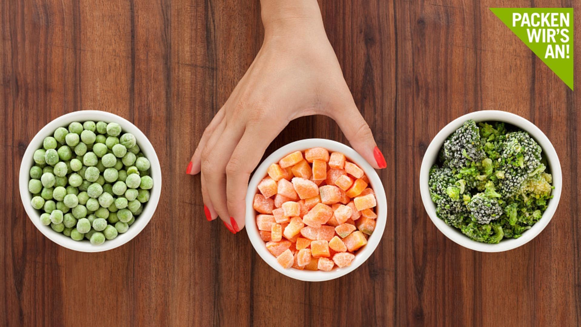 Wir zeigen, wie Sie Lebensmittel richtig auftauen.