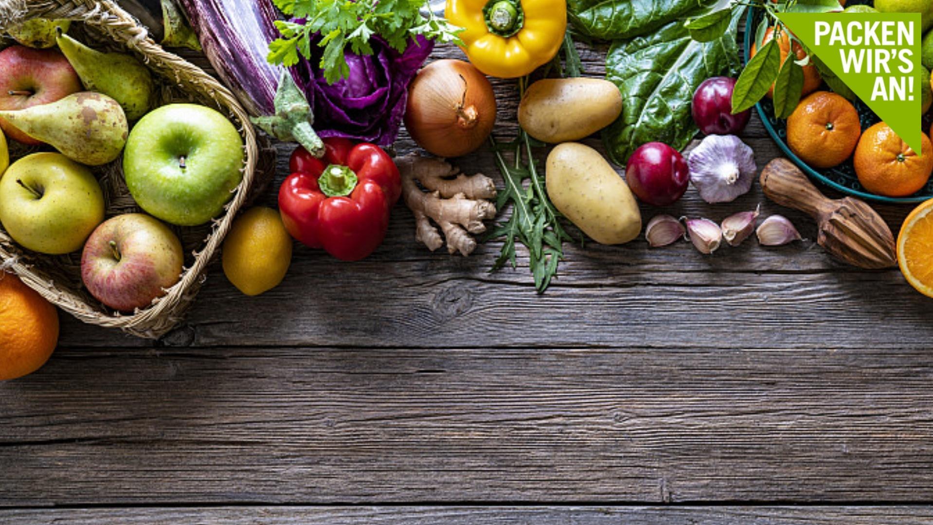 Dieses Obst  und Gemüse hat im September Saison