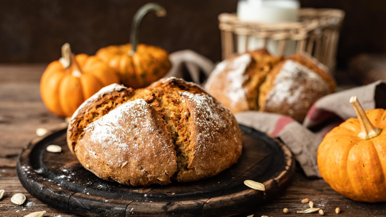 Ein tolles Brot für den Herbst.