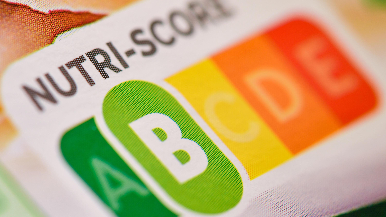 Der sogenannte «Nutri-Score», eine farbliche Nährwertkennzeichnung, auf einem Fertigprodukt.
