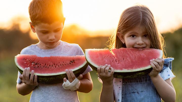 Viele Kinder lieben Obst oder Rohkost