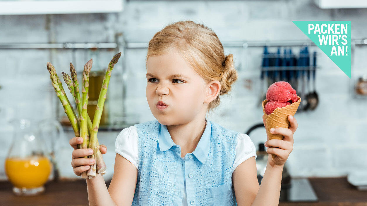 Kinder zum Essen zwingen? Auf keinen Fall, fordern Experten
