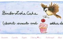 "Kochblog der Woche: ""Birds Like Cake"""