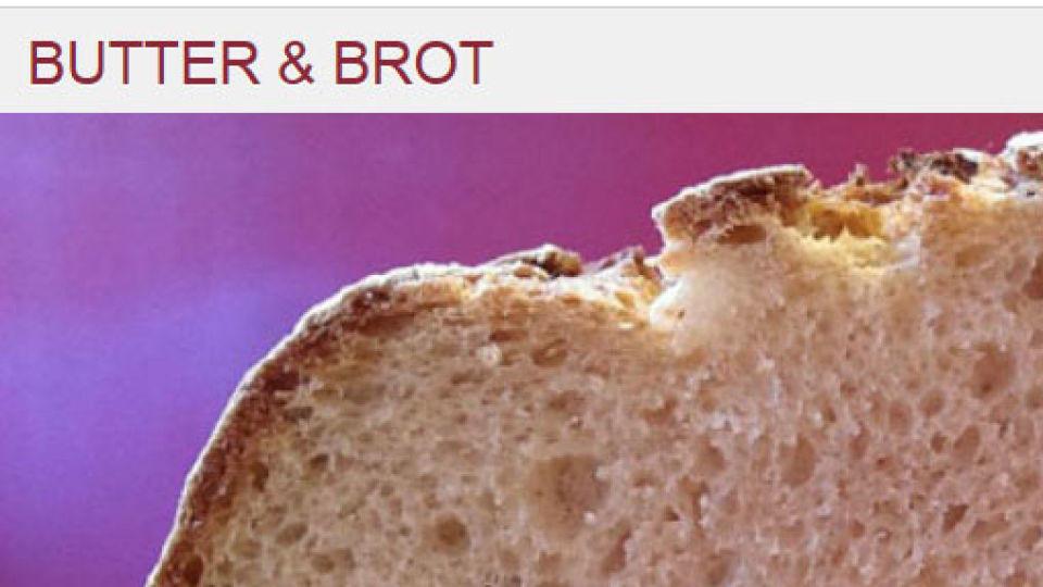 """Kochblog der Woche: """"Butter und Brot"""""""