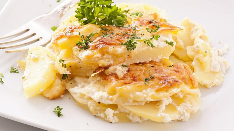 Was Zum Kartoffelgratin