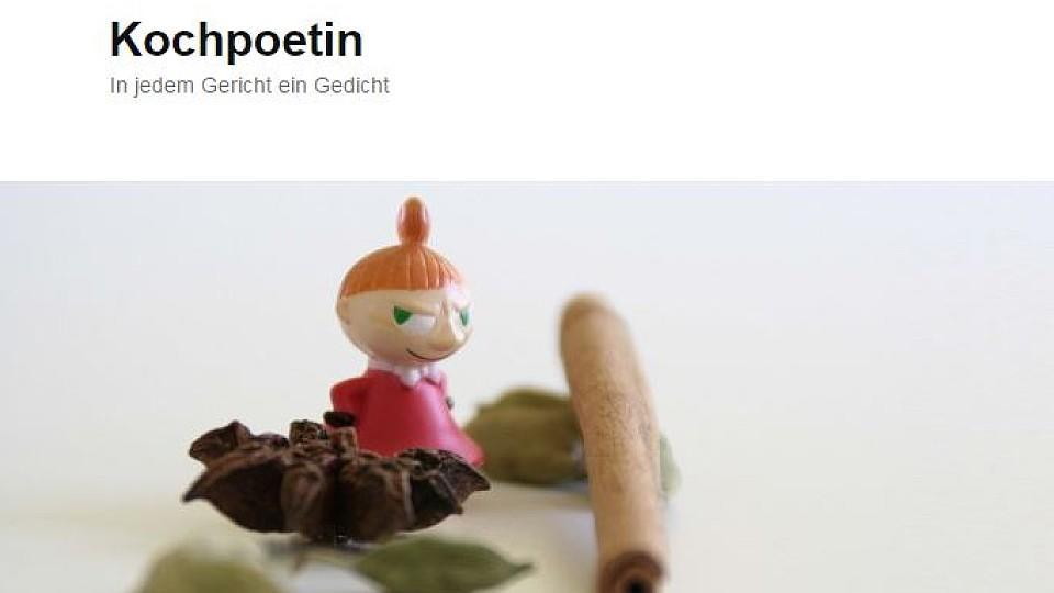 Kochblog Kochpoetin ist Kochblog der Woche bei kochbar.de