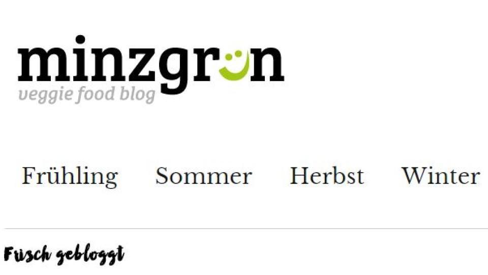 Kochblog der Woche: Minzgrün