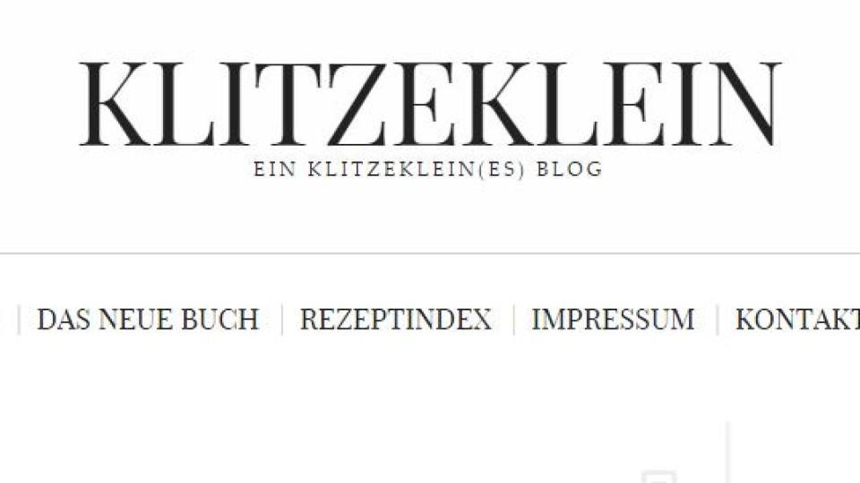 """Kochblog der Woche: """"Ein klitzeklein(es) Blog"""""""