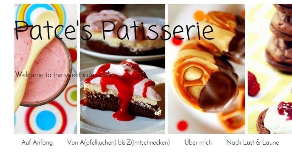 "Kochblog der Woche: ""Patce's Patisserie"""