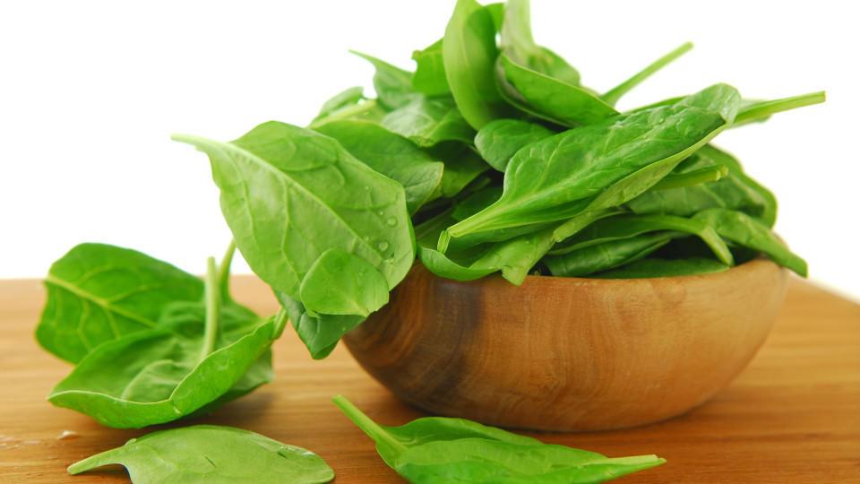 Spinat ist lecker und steckt voller Vitamine