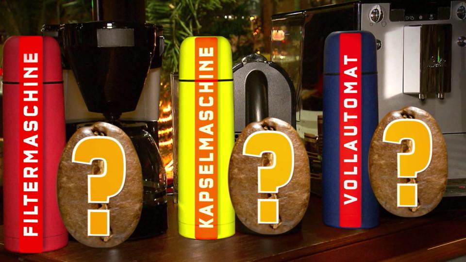 Kaffeemaschinen im Test So trinken Sie lecker und günstig  -> Kaffeemaschine Im Test